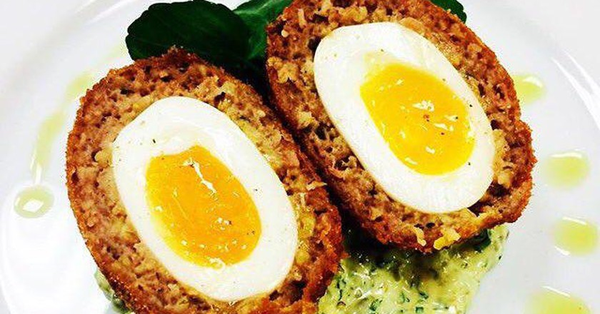 Scotch Egg Challenge: Holborn Dining Room - winner (2015)  PR Handout