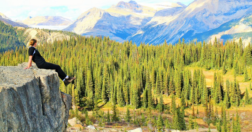 Iceline Trail in the Rockies
