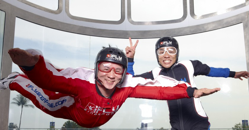 Indoor Skydiving   Courtesy of iFly Singapore
