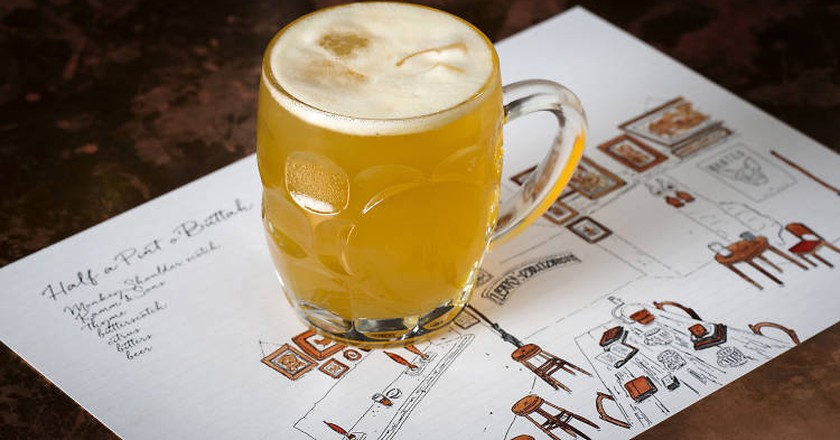 You Can Now Drink Harry Potter-Themed Butterbeers in London