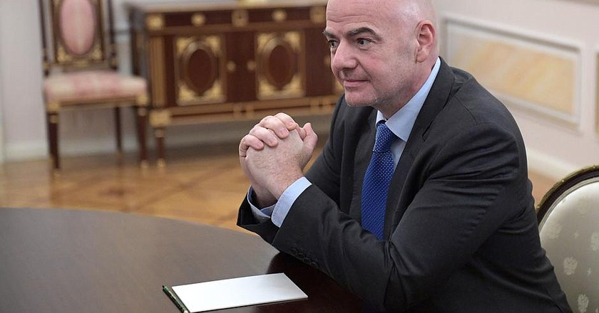 Gianni Infantino, President of FIFA | © http://en.kremlin.ru/