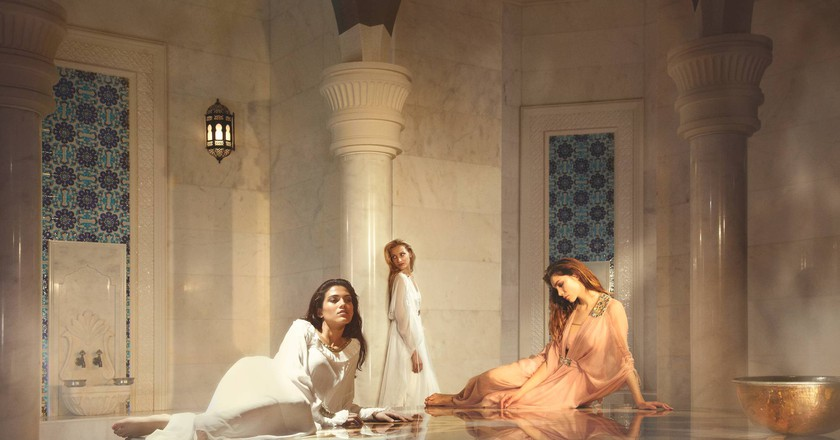 Relaxing in luxury at Talise Ottoman Spa