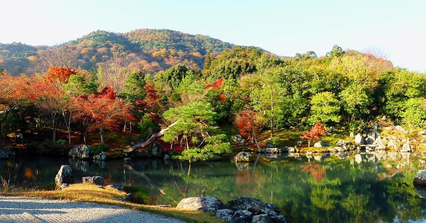 Japanese Stroll Garden at Tenryu-ji Temple| © Tetsuhiro Terada Flickr