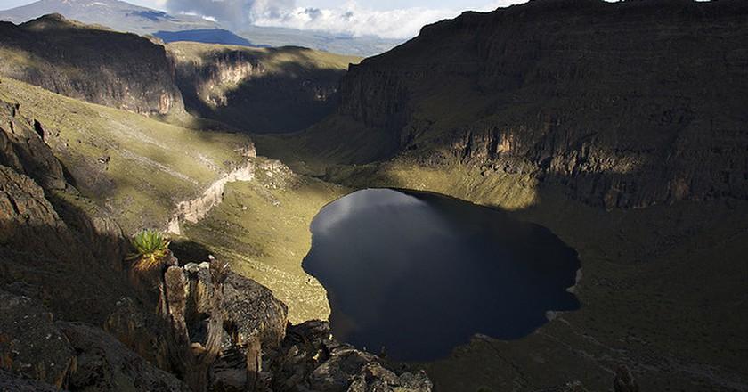 Lake Michaelson, Mt. Kenya| © troll2006 / Flickr