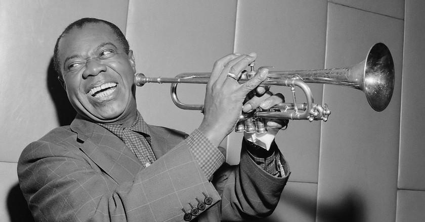 Louis Armstrong | © Herbert Behres/NationalArchive