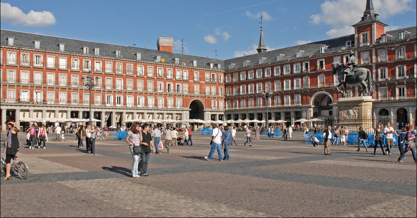 The Plaza Mayor in Madrid | © Jean Pierre Dalbera/Flickr