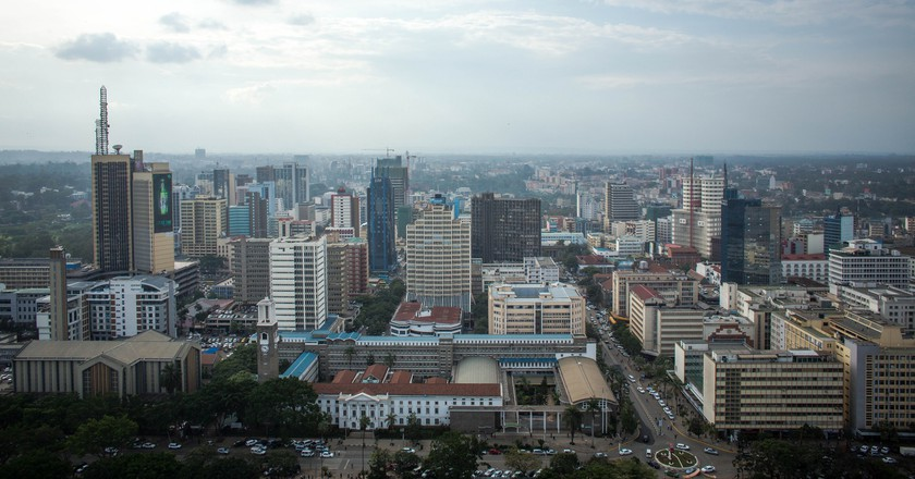 Nairobi skyline | © Make It Kenya Photo / Stuart Price / Flickr