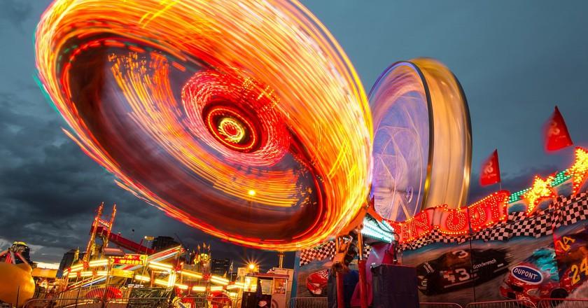 Amusement park rides   © Unsplash / Pexels