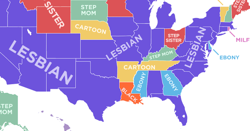23 Funny and Interesting Maps That Show Just How Weird America