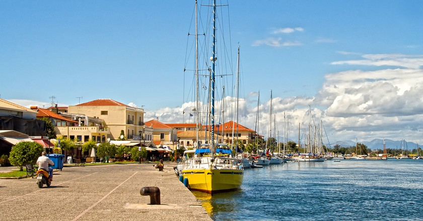 Port of Preveza, Epirus
