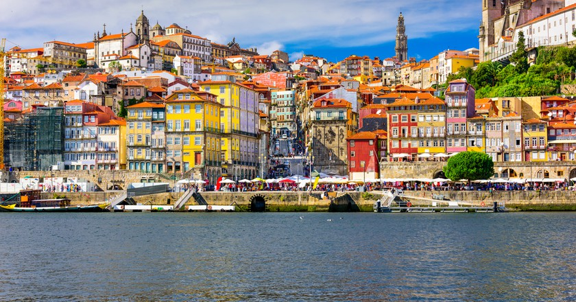 Porto, Portugal old town skyline from across the Douro River| © ESB Professional/Shutterstock