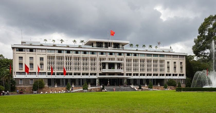 Reunification Palace © Diego Delso / Wikimedia Commons