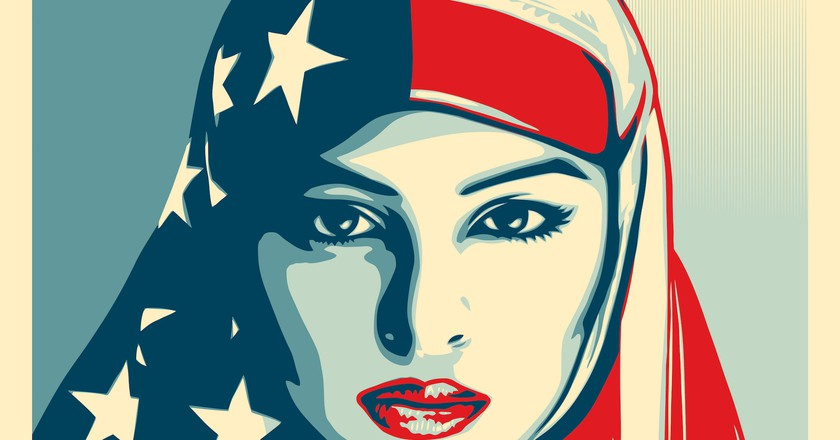 We The People by Shepard Fairey. Courtesy the artist and The Amplifier Foundation