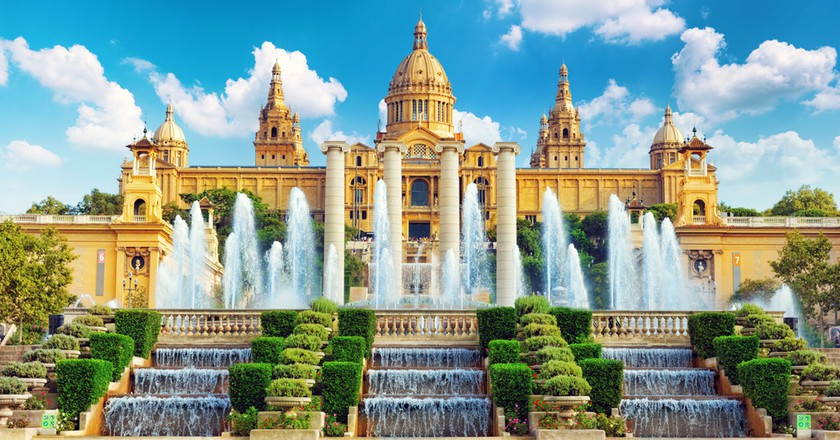 National Museum in Barcelona,Placa De Espanya,Spain | © Brian Kinney / Shutterstock