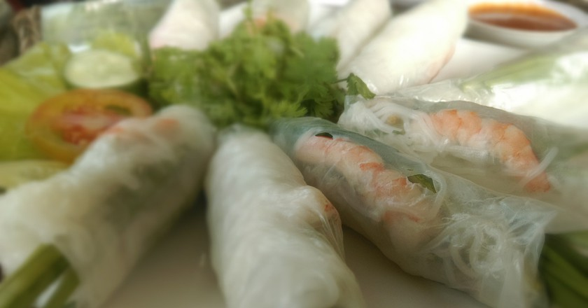 Fresh spring rolls © photaubay98 / Pixabay