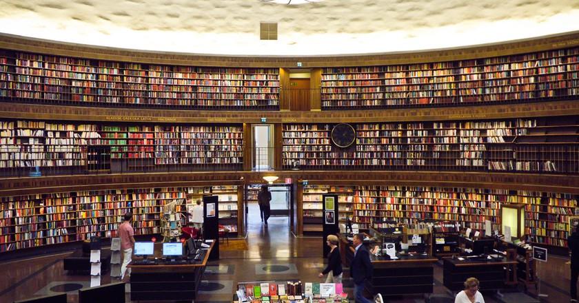 Stockholm City Library   © Samantha Marx / Flickr
