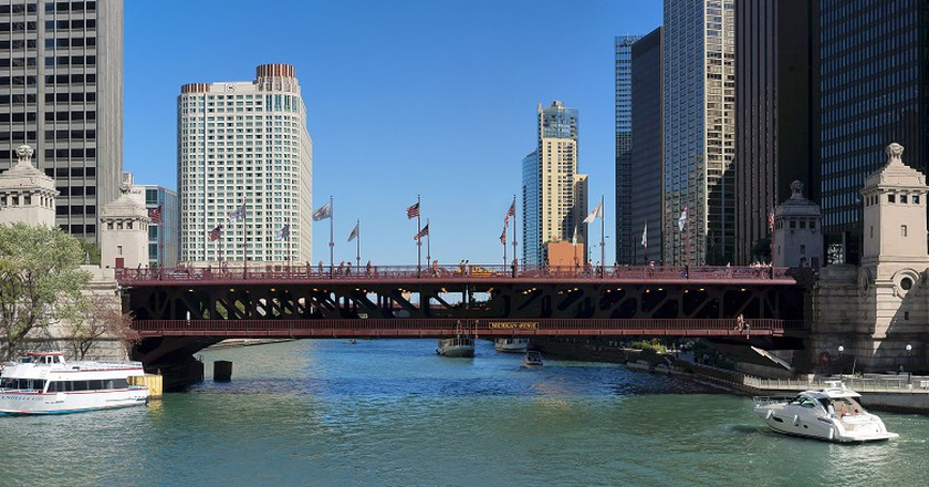 The Chicago River | © 2010, Jeremy Atherton/WikiCommons