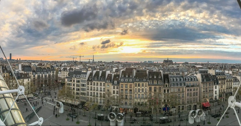 The view of Paris from the Centre Pompidou │© Yann Caradec / Flickr