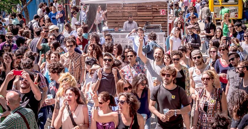 Festival goers in Madrid | ©  Javier Rosa/Tomavistas