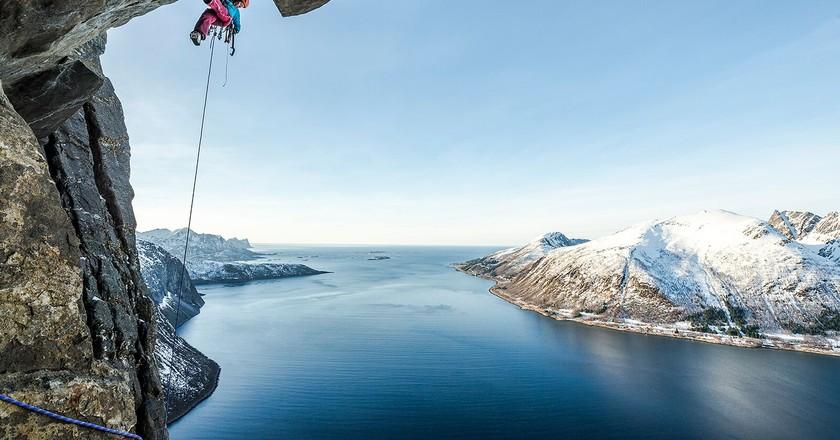 Ines Papert, Senja Island, Norway   © Thomas Senf/ Courtesy Of The Banff Mountain Film Festival