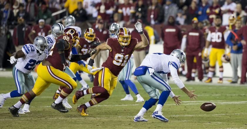 Washington Redskins play Dallas Cowboys    © Keith Allison / Flickr