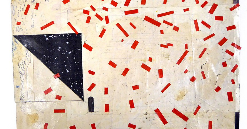 A painting by William Cordova at Arco in Madrid.  | © Arco Madrid.