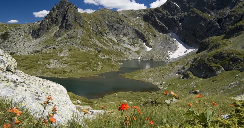 The Twin Lake, one of the Seven Rila Lakes I © Krasimira Decheva / WikiCommons