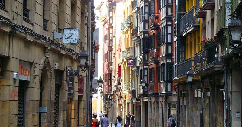Casco Viejo Bilbao, Spain | © Mikemod / Wikimedia Commons