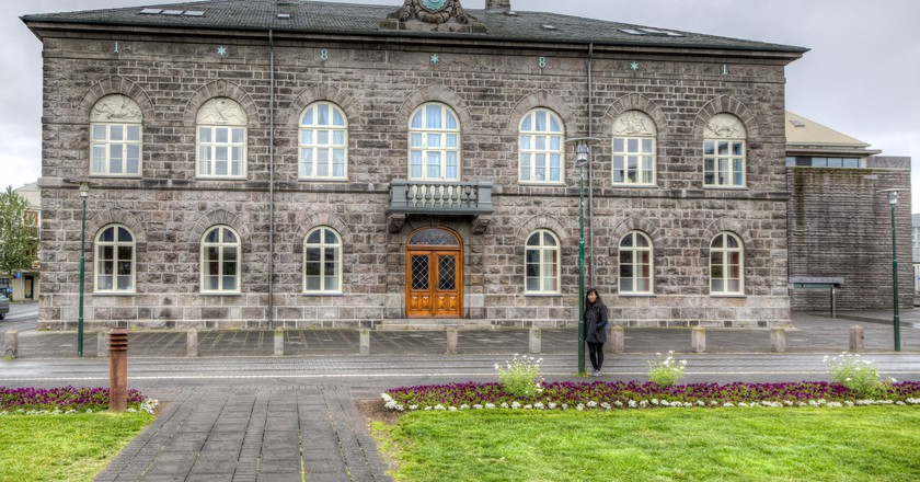 Althingi in Reykjavik | © Ben Kucinski / Flickr