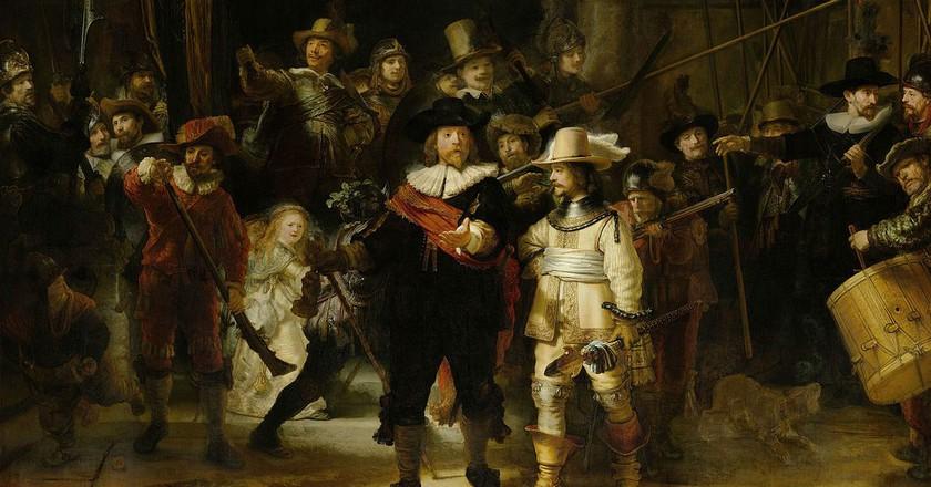 Rembrandt van Rijn: The Night's Watch, 1642  | © WikiCommons / the Rijksmuseum