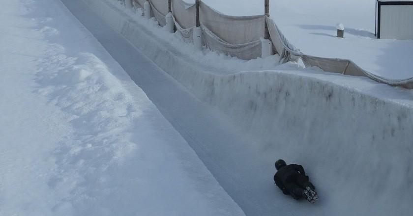 Cresta Run in St. Moritz, Switzerland | © WikiCommons/Christophe95