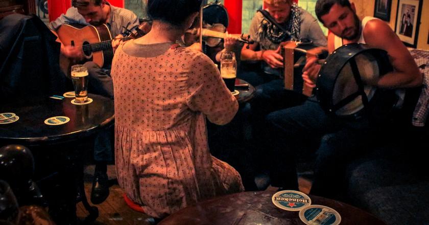 Jam session in Galway Pub, Ireland | © Damián Bakarcic / Flickr