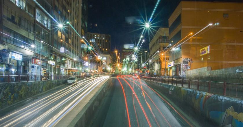 La Paz nights © Gary A. Valenzuela