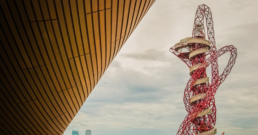 The Arcelor Mittal Orbit Tower features the world's longest tunnel slide | © Gary Ullah / Flickr