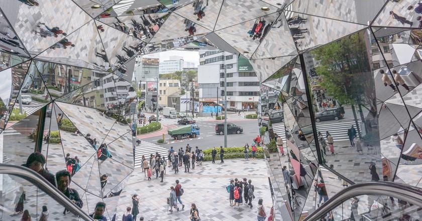 Tokyu Plaza entrance in Omotesando | © IQRemix / Flickr