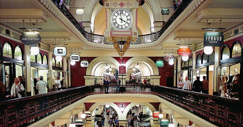 Inside the Queen Victoria Building Mall, Sydney | © Thomas Depenbusch/Flickr
