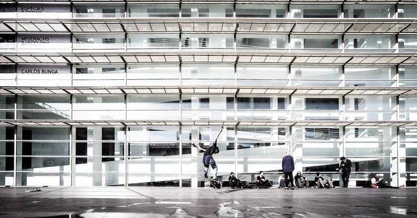 Skater at MACBA   © Luis Marina