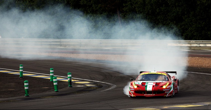 24 Hours of Le Mans 2011 - Race - Ferrari 458 Italia #51 │© Alessandro Prada / Flickr