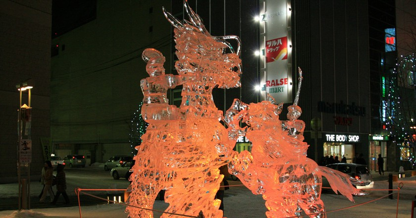 Asahikawa Winter Festival| ©Tony Lin / Flickr