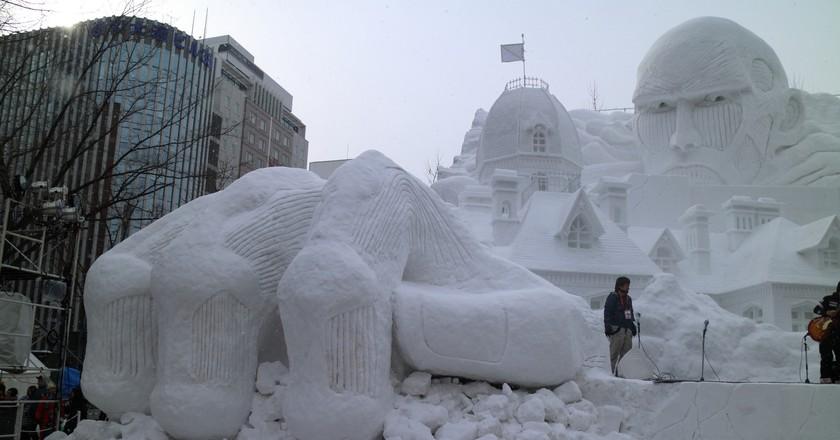 SAPPORO SNOW FESTIVAL | ©Akinori YAMADA / Flickr