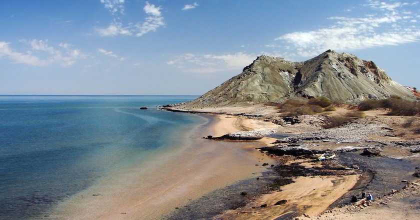 Iran has diverse geography, including Khezr Beach on Hormoz Island | © Hamed Saber / Flickr