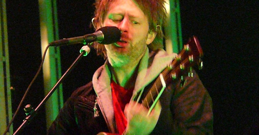 Radiohead will be playing on Friday | © Flickr/angela n.