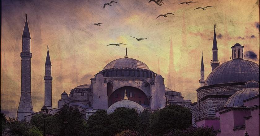 Istanbul Mosque   © Ajay Goel