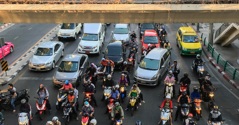 Bangkok Traffic  | © Joe deSousa / Flickr