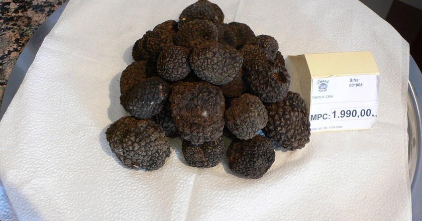Istrian Black Truffles by Heather Cowper