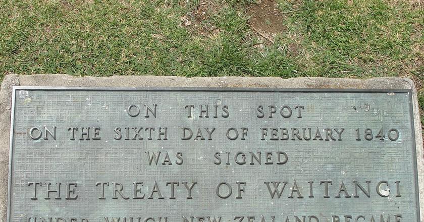 Waitangi Memorial | © Chris Gilson / Flickr