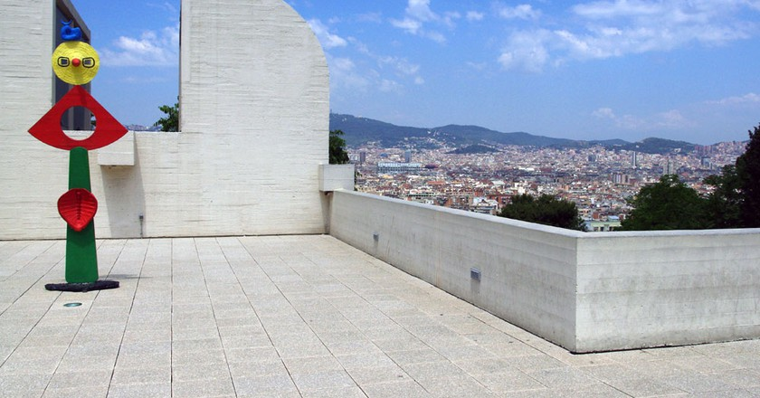 At the Fundació Miró   © Susan Fitzgerald/Flickr