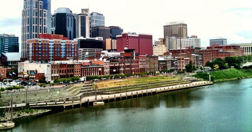 Downtown Nashville Riverfront | © Brad Montgomery / Flickr