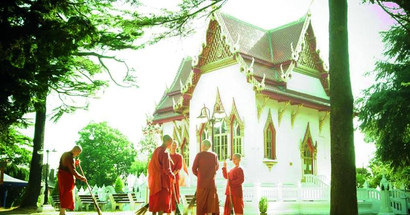 Courtesy of Wat Buddhapadipa Temple