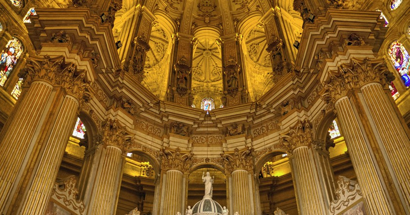 Málaga Cathedral interior | © Bert Kaufmann/Flickr